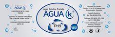 Diseño de etiqueta Cliente: Agua k Soft: Illustrator