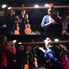 Flamenco night in #madrid