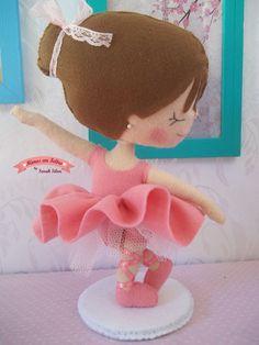 Resultado de imagen para dançarino molde ballet feltro