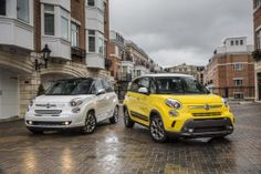 2014 Fiat 500L: A compact crossover SUV with uniquely styled headlamps! Complete review at www.careofcar.com