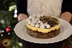 Mákosguba torta Guam, Cheesecake, Sweets, Christmas, Food, Poppy, Xmas, Gummi Candy, Cheesecakes