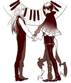 Gray-Man: past Allen and Neah Anime Couples Manga, Cute Anime Couples, Anime Guys, Dr Grey, D Gray Man Allen, Fan Anime, Anime Art, Allen Walker, Man Wallpaper