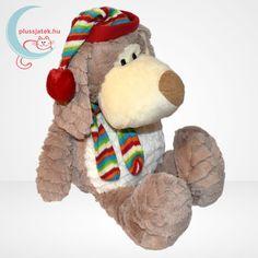 Merry Christmas 33 cm magas karácsonyi sapkás-sálas plüss kutya, szuper ölelgetni való barát, kellemesen puha tapintású, kiváló minőségű anyagból. Szuper ajándék Mikulásra, karácsonyra, vagy csak egyszerű alvótársnak bármilyen korosztály számára. #Plüss #Pluss #Játék #Jatek #Karácsony #Kutya #Ajándék #Ajandek Gingerbread Cookies, Merry Christmas, Teddy Bear, Toys, Animals, Gingerbread Cupcakes, Merry Little Christmas, Activity Toys, Animales