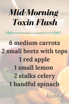 Why it's important to do a Juice Cleanse Mid-Morning Toxin Flush