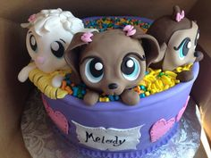 Melodys lps cake so cute!!!!!!!!