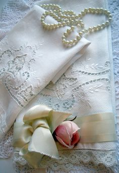 Beautiful Tea Towel Set Towels Open Cutwork by mailordervintage