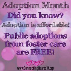 #AdoptionMonth