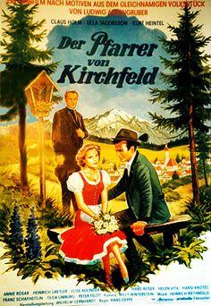 Poster zum Film: Der Pfarrer von Kirchfeld. 1955