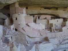 Mesa Verde, one of the world's most famous cliff dwellings, in Mesa Verde National Park east of Cortez, CO, USA