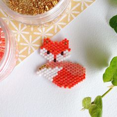 Énième version de fox 😇🍂, je ne m'en lasse pas... 😉 Petit tissage express…