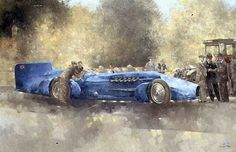 ► Peter Miller ~ Vintage Car painter | Tutt'Art@ | Pittura * Scultura * Poesia * Musica |