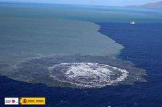 Erupción submarina Canarias 18