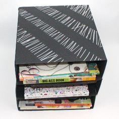 Paper Box Desk Organizer | FaveCrafts.com