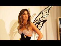 Bras, Butt Lifts, & Wings: Victoria's Secret Angel Fitting with Lily Ald...