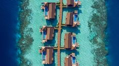 View photos of our luxury resort and see why Waldorf Astoria Maldives Ithaafushi exudes quality. Prefabricated Houses, Prefab Homes, Ceiling Murals, Overwater Bungalows, Waldorf Astoria, Architectural Digest, Tahiti, Aerial View, Maldives