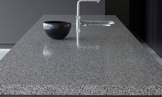 Quartz Worktops - Contemporary Kitchens