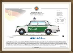 Lada 2101 DDR Police car Police Cars, Hungary, My Drawings, Movie Posters, Movies, Pictures, 2016 Movies, Popcorn Posters, Movie