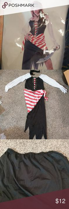 Adult pirate halloween constume Ruby, the pirate princess, worn once, like new California Costume Other