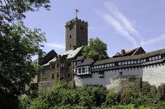 Castillo de Wartburg en Eisenach, Germany