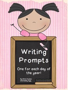 Writing prompts to last the entire year!!  Over 180 unique prompts spreading across a variety of topics and covering lots of writing genres!!