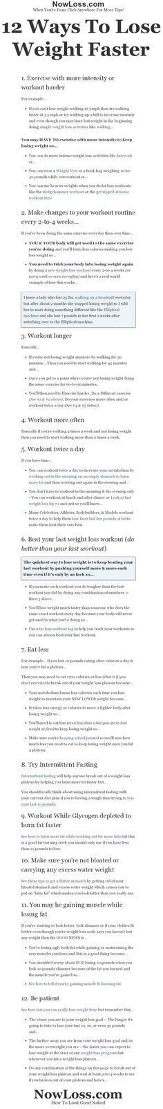 Weird way to lose belly fat in a week