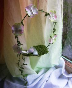 Spring Circle wreath With a sweet little baby by softearthart, $25.00