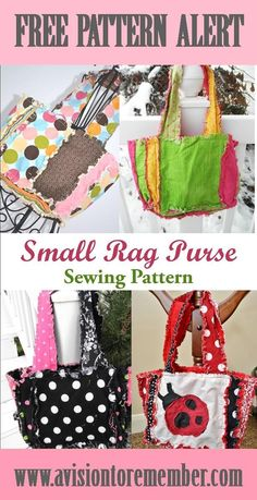 Free Pattern - Rag Quilt Scripture Tote for Baptism Gifts | A Vision to Remember All Things Handmade Blog: Free Pattern - Rag Quilt Scripture Tote for Baptism Gifts