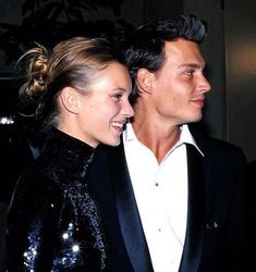 Kate Moss & Johnny Depp, Golden Globes 1995.