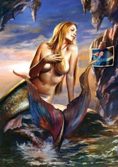 Mermaid by Boris Vallejo