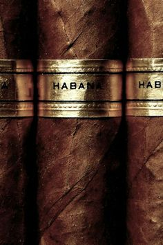 Cuban Cigars independent Havana label. #smoke #men #gifts