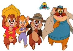 Chip 'n Dale, Rescue Rangers