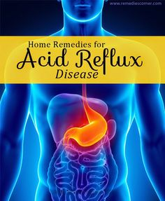 Home Remedies For Acid Reflux Disease | Remedies Corner