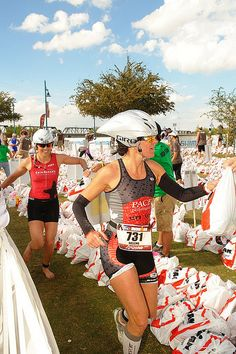 Ironman marathon strategies