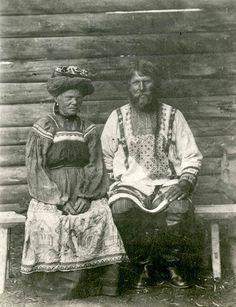 Фото А. Е. Новосёлова, 1912 год.