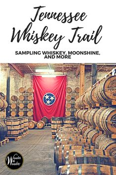 Known for whiskey, visitors can grab a passport for the Tennessee Whiskey Trail and take a tour of distilleries, sample the products and collect stamps! Bourbon Tour, Whiskey Tour, Whiskey Trail, Good Whiskey, Tennessee Whiskey, Nashville Tennessee, Tennessee Vacation, East Tennessee, Nashville Tours