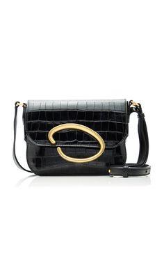 Get inspired and discover Oscar de la Renta trunkshow! Shop the latest Oscar de la Renta collection at Moda Operandi. Leather Shoulder Bag, Leather Bag, Shoulder Strap, Wearing Black, Designing Women, Crocs, Calves, Crossbody Bag, Purses