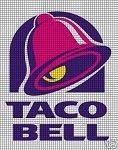 Taco Bell Crochet Pattern