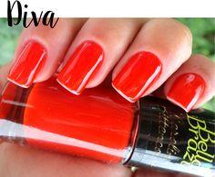 ESMALTE BELLA BRAZIL DIVA @bellabrazilesmaltes #meubellabrazil #bellabrazil #unhas #nails #unhasdafun #love #life #enamel #glaze #polish