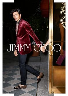 Andres Velencoso Segura is on the Social Stroll for Jimmy Choo Spring/Summer 2013 Campaign