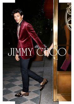The Style Examiner: Andres Velencoso Segura Fronts Jimmy Choo and Mango Campaigns
