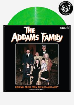 Look how amazing this is! Just in time for Halloween. Soundtrack to The Addams Family - Newbury Comics Exclusive LP - Colored Vinyl Record