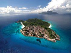 La isla Desroches se caracteriza por ser un lugar coralino.