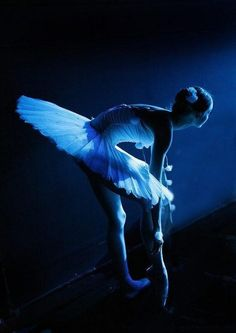 Ballet in blue  (via Photography)