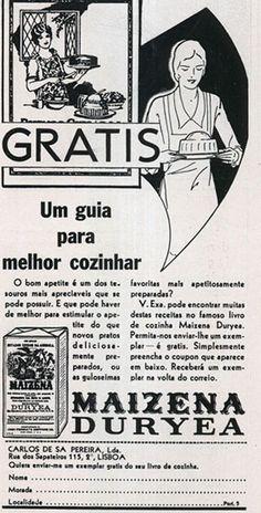 Maizena Duryea    #thaifernandes, #thaisafernandes, #advertingvintage, #vintage