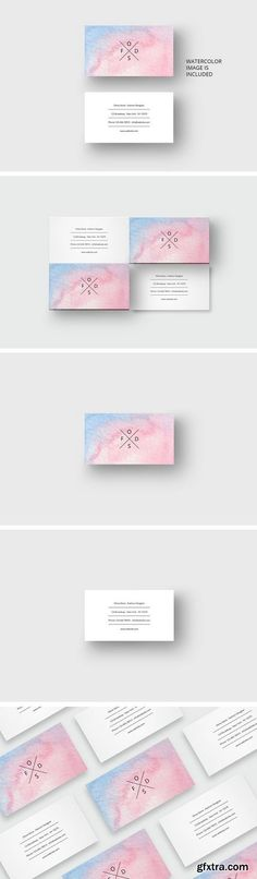 Cm forest business card template 1689350 photoshop pinterest reheart Images
