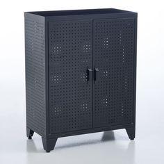 Kleiderschrank locker, perforiert schwarz Am.Pm | La Redoute