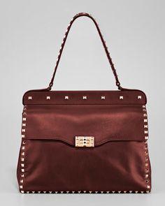 RockStud Shoulder-Strap Bag by Valentino at Neiman Marcus.