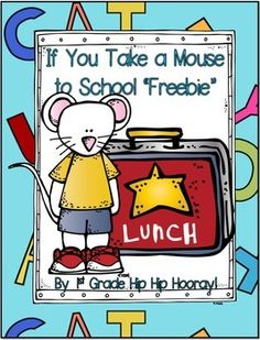 If your class enjoyed reading If You Take A Mouse to School have them use their creativity to complete these story starters.MicheleYou'll love the complete packet.