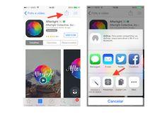 Acessando a plataforma para enviar aplicativos de presente na App Store através de um dispositivo iOS (Foto: Reprodução/Marvin Costa)