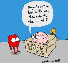 "The Awkward Yeti (@theawkwardyeti) on Instagram: ""Having your heart in your work is tricky, especially when you feel boxed in. Is your heart in your…"""